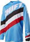 Shift Racing Blue/Black/White/Red White Label Tarmac Dirt Bike Jersey MX ATV
