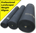 New Superior Weed Control Fabric - 60gsm - Porous Landscape Membrane