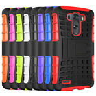 For LG G3 Case Shockproof Dual Layer Tough Hybrid Armor Kickstand Phone Cover