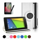 Google Nexus 7 FHD (2nd Generation) Rotating Leather Case Stand