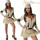 Ladies Ghostbusters Costume Fancy Dress Halloween 80s Ghostbuster Adults Outfit