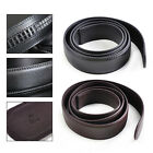 Genuine 110cm Men Belt Automatic Ribbon Waistband Waist Strap without Buckle