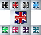 UNION JACK MAKE-UP MIRROR COMPACT GIFT (PERSONALISED / CUSTOM NAME GIFT)