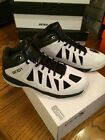 """New Men's And1 Basket Ball """"Backlash Mid"""" Shoes Black/White D7024MWBS"""