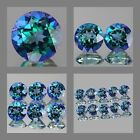4mm Matched Lot 1,2,6pcs Round Cut Natural NEPTUNE GARDEN TOPAZ