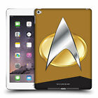 OFFICIAL STAR TREK UNIFORMS AND BADGES TNG HARD BACK CASE FOR APPLE iPAD