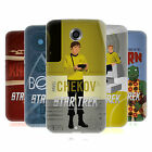 OFFICIAL STAR TREK ICONIC CHARACTERS TOS SOFT GEL CASE FOR MOTOROLA PHONES
