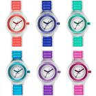 Watch HIP HOP SHEER Small 32 mm Silicone Transparent Coloured Blue Red Purple