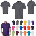 MEN'S CLASSIC POLO SHIRT, PRESHRUNK, SHORT SLEEVE, MID WEIGHT S-L XL 2X 3X 4X 5X