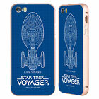 STAR TREK SHIPS OF THE LINE VOY GOLD BUMPER SLIDER CASE FOR APPLE iPHONE PHONES