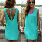 Sexy Women Sleeveless Party Evening Cocktail Summer Beach Short Mini Dress N98B