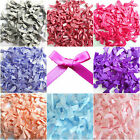 7mm Mini Satin Ribbon Bows Choice Single / Mixed Colour For Art & Craft Sewing