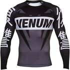 Venum Revenge Rashguard - Grey, 02677 - Rash Guard - Compression Wear