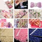 Colorful 3mm AB Resin Flatback Crystal 14 Facets Rhinestones Beads DIY 2000Pcs