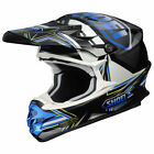 Shoei VFX-W Reputation Helmet Black/Blue/White