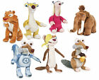 NEW OFFICIAL ICE AGE 5 NEW MOVIE PLUSH SOFT TOY SCRAT SID MANNY DIEGO BUCK