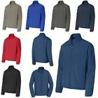 MEN'S QUIET, ZIP UP, WIND JACKET, WINDBREAKER, UNLINED, POCKETS XS-L XL 2X 3X 4X