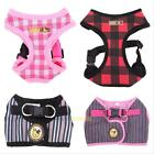 Adjustable Pet Dog Puppy Soft Vest Strap Harness Collar Leash Lead Traction Rope