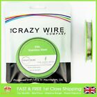 0.38mm (27 AWG) - Comp SS316L (Marine Grade Stainless Steel) Wire - 6.61 ohms/m