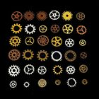 100g/Bag 3 Colors Vintage Steampunk Gears Art Altered Project Crafts Handmade TW