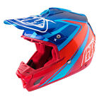 NEW 2017 TROY LEE DESIGNS SE3 NEPTUNE MX DIRT OFFROAD HELMET BLUE ALL SIZE