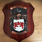 McGURK Handpainted Coat of Arms Crest PLAQUE Shield 50.000 names available