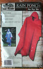 MEN / WOMEN OLD MILL Rain Poncho NEW 4 colors choose RED, BLUE, YELLOW, & GREEN