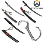 Overwatch Genji Roadbuster Weapon Model Keychain Key Ring Pendant Collect Gift