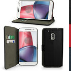 PU Leather Skin Wallet Case for Motorola Moto G4 Play XT1601 Flip Stand Cover