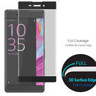 3D Curved Full Screen Film Tempered Glass Screen Protector for Sony Xperia XA