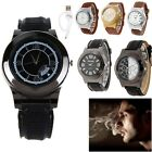 Mens Watch USB Rechargeable Flameless Electronic Windproof Lighter WristWatch 0