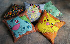 "Pokemon Characters 9"" Stuffed Cushions"