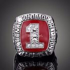 Colorado Buffaloes 1990 National Championship Ring Heavy Solid