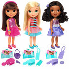 Dora and Friends Dance Party Doll Glitter Outfit Charm Brush Girls Emma Alana
