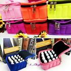 Aromatherapy Diffuseer Essential Oil  Double Zipper Storage Carry Bag Case Box C