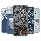 HEAD CASE DESIGNS JEANS AND LACES HARD BACK CASE FOR HTC 10