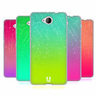 HEAD CASE DESIGNS NEON RAIN OMBRE SOFT GEL CASE FOR MICROSOFT LUMIA 650