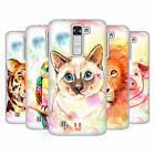HEAD CASE DESIGNS WATERCOLOURED ANIMALS SOFT GEL CASE FOR LG K8 / PHOENIX 2