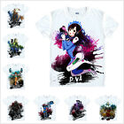 Hot Sale Game Overwatch Short Sleeve T-shirt Tops Summer Costume Unisex White
