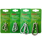 Supafix Carbine Hooks Carabina Steel Bright Zinc Plated Chain Rope Hook -4 Sizes