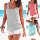 Women's Sexy Fashion Loose Sleeveless Casual Tank T-Shirt Blouse Tops Vest