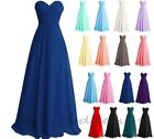 Long Formal Wedding Party Prom Bridesmaid Evening Cocktail Ball Dress Size 6-22