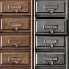Holden Vintage Drawers Pattern Wallpaper Retro Office Cabinet Motif Faux Effect