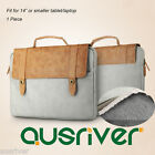 """Brand New Baseus 14"""" Synthetic Leather Laptop Bag for Macbook Air Pro Waterproof"""