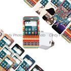 For Huawei Ascend G7 C199 PU leather Window Stand View Flip Cover Case Cartoon