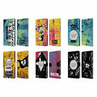 CUSTOM PERSONALISED 5SOS MIXED ICONS LEATHER BOOK WALLET CASE FOR SONY PHONES 2