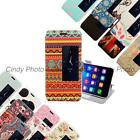 For Huawei Ascend Honor 6 PU leather Window Stand View Flip Cover Case Cartoon