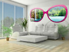 Photo Wallpaper PARADISE WATERFALL GLASSES Wall Mural (722VEZ5)