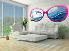 Photo Wallpaper DOLPHINS GLASSES Wall Mural (723VEZ5)