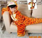 Hot sale kids Pajamas Kigurumi Unisex Cosplay Animal Costume Onesie sleepwear!!
